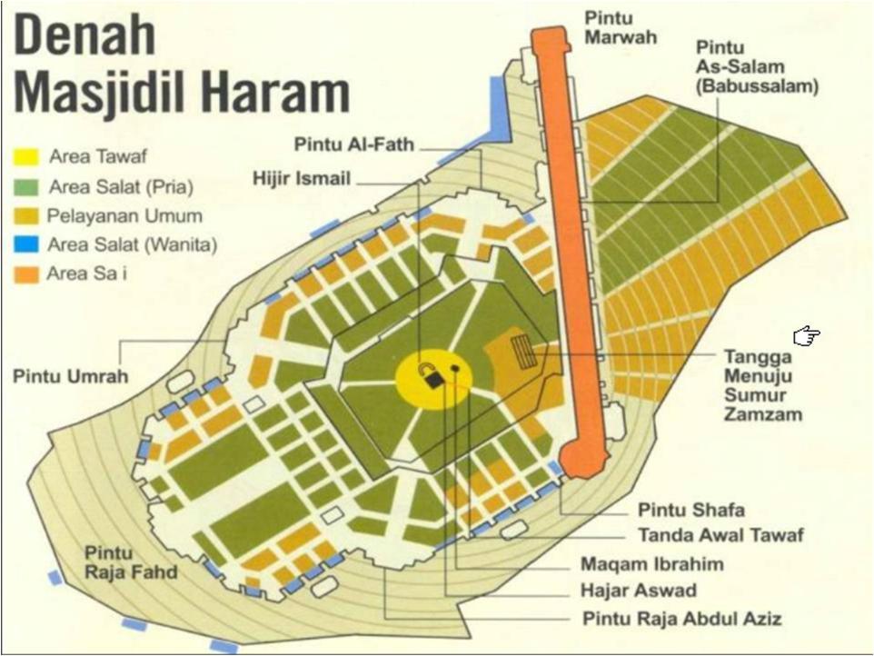 denah masjidil haram